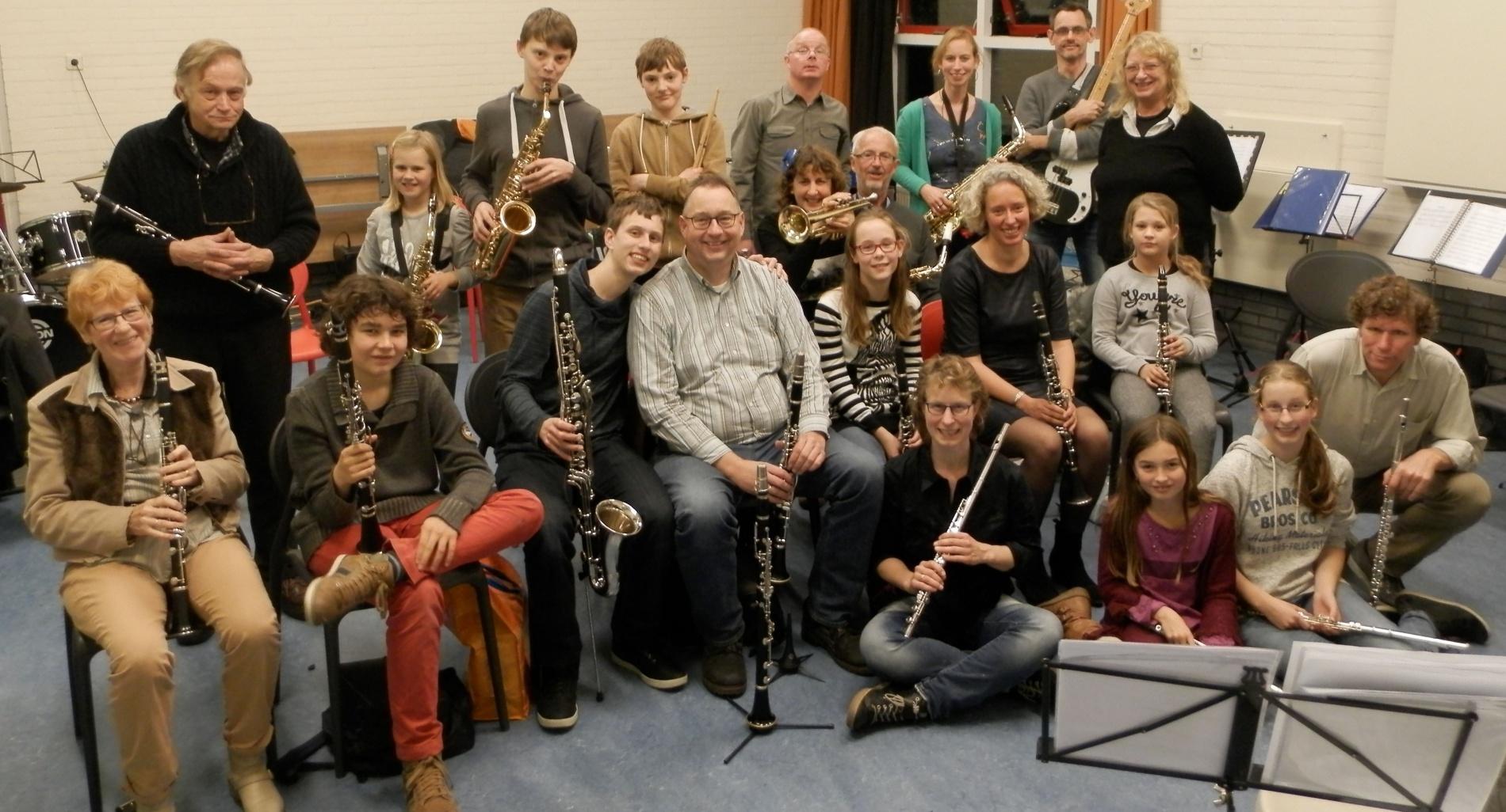 Het orkest Zutphonia Zutphen